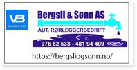 Annonse Bergsli & Sonn