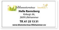 Annonse Blomsterstua Lillehammer Helle Ravnsborg