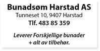 Annonse Bunadsøm Harstad