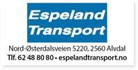 Annonse Espeland Transport