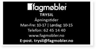 Annonse Fagmøbler Trysil