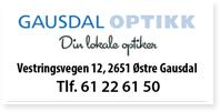 Annonse Gausdal Optikk