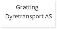 Annonse Grotting Dyretransport AS