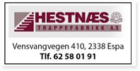 Annonse Hestnaes Trappefabrikk