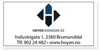 Annonse Høyden Eiendom AS