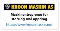 Annonse Kroon Maskin AS