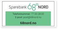 Annonse Sparebank 68 Grader Nord