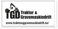 Annonse TGD Traktor Og Gravemaskindrift