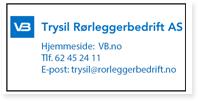 Annonse Trysil Rorleggerbedrift