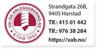 Annonse VAB Vei og Anleggsboring