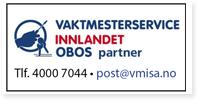 Annonse Vaktmesterservice Innlandet