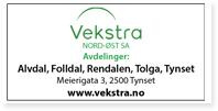 Annonse Vekstra