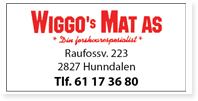 Annonse Wiggos Mat AS