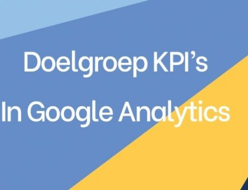 Doelgroep KPI's in Google Analytics