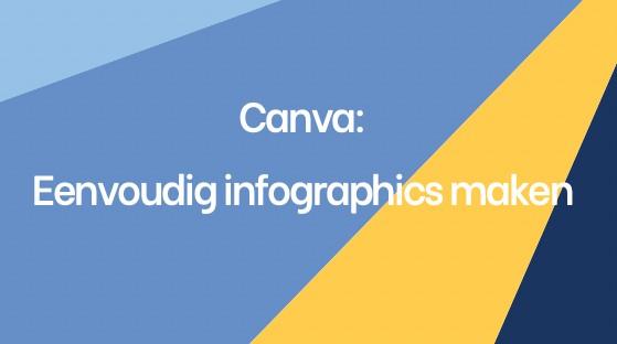 Eenvoudig infographics maken met Canva