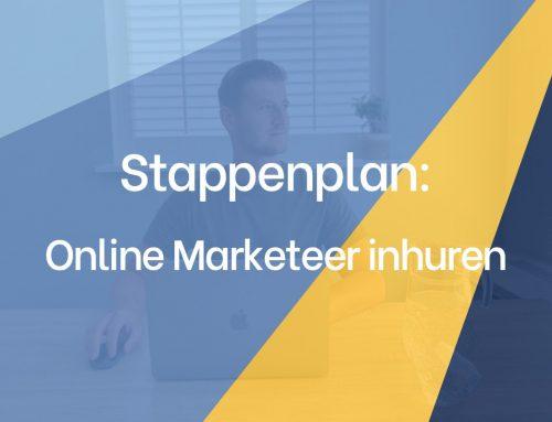 Online Marketeer inhuren – in 4 stappen