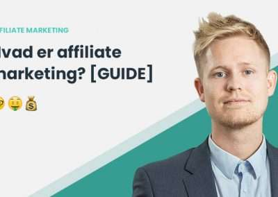 Hvad er Affiliate Marketing? Affiliate Marketing 2020