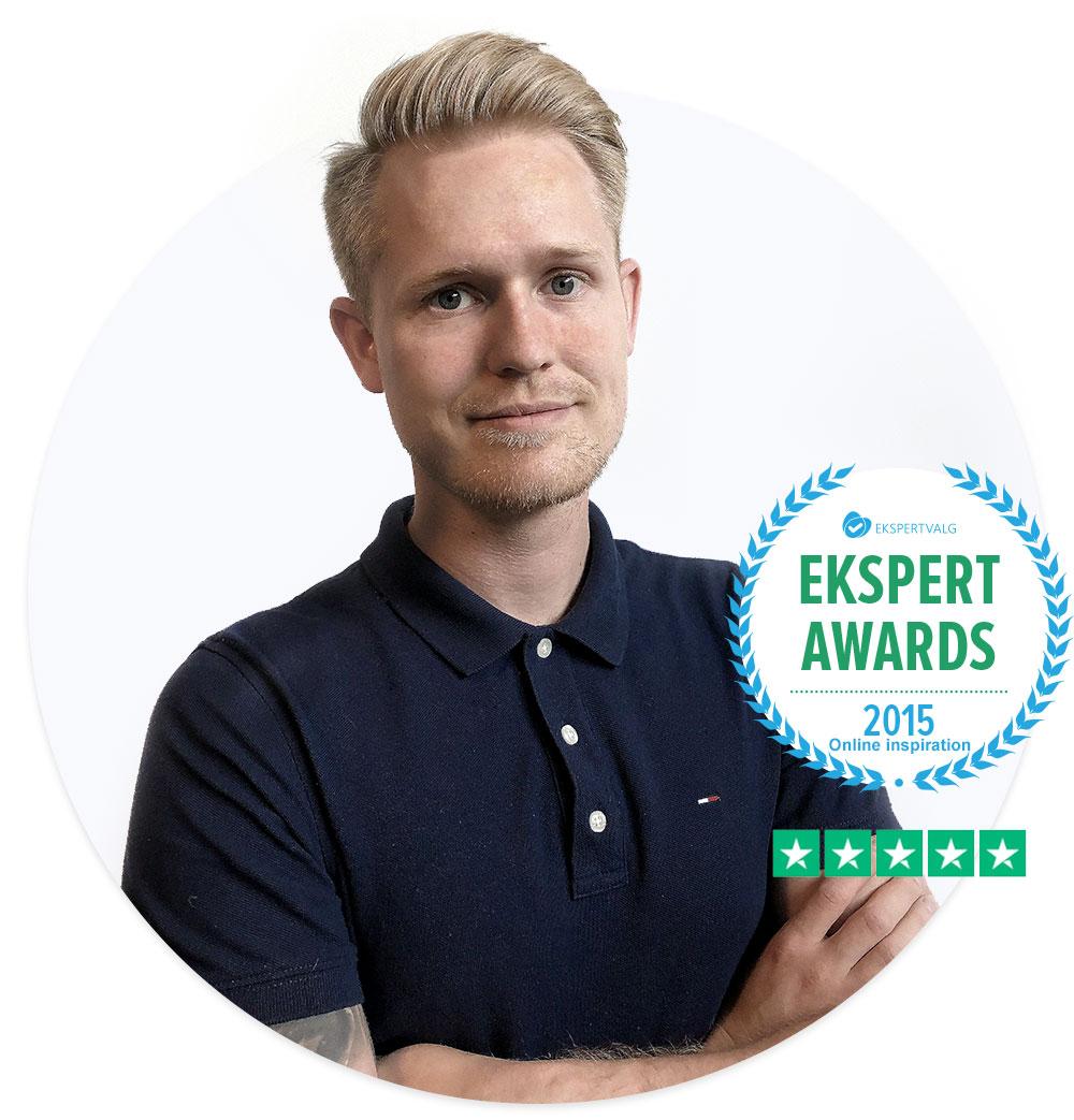 Freelance webdesigner Nicolai Sørensen