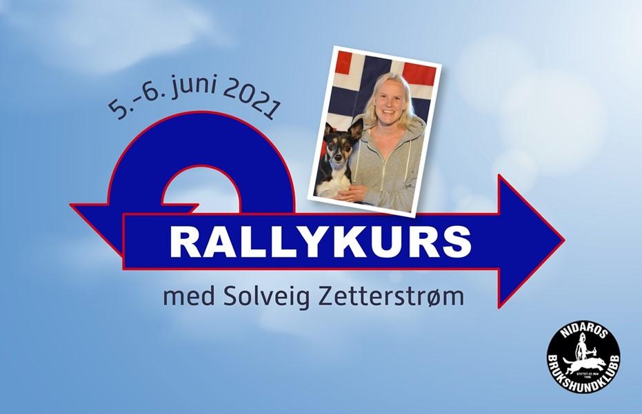 Kurs i rallylydighet med Solveig Zetterstrøm, 5.- 6. juni
