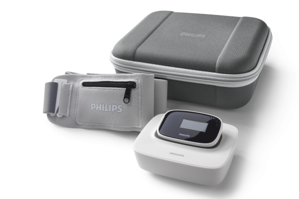 De Philips nightbalance in reiskoffer