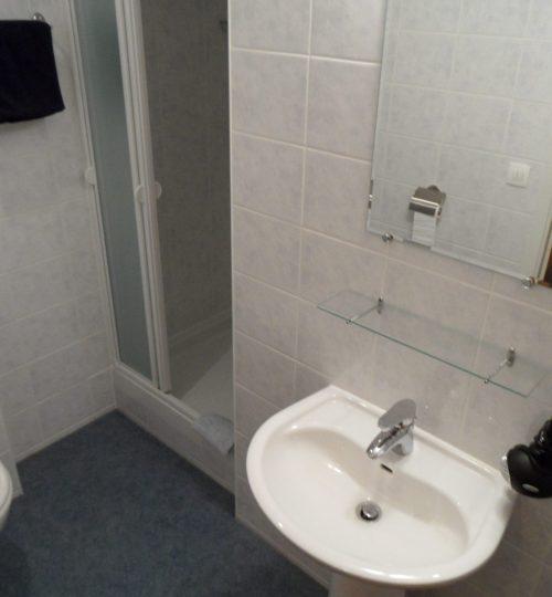 Badkamer van de familiekamer