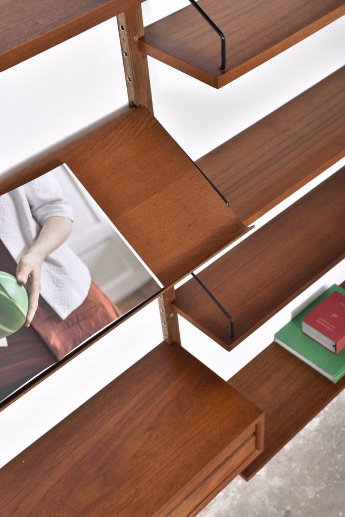 Detail shelves - reading shelf - small drawer cabinet
