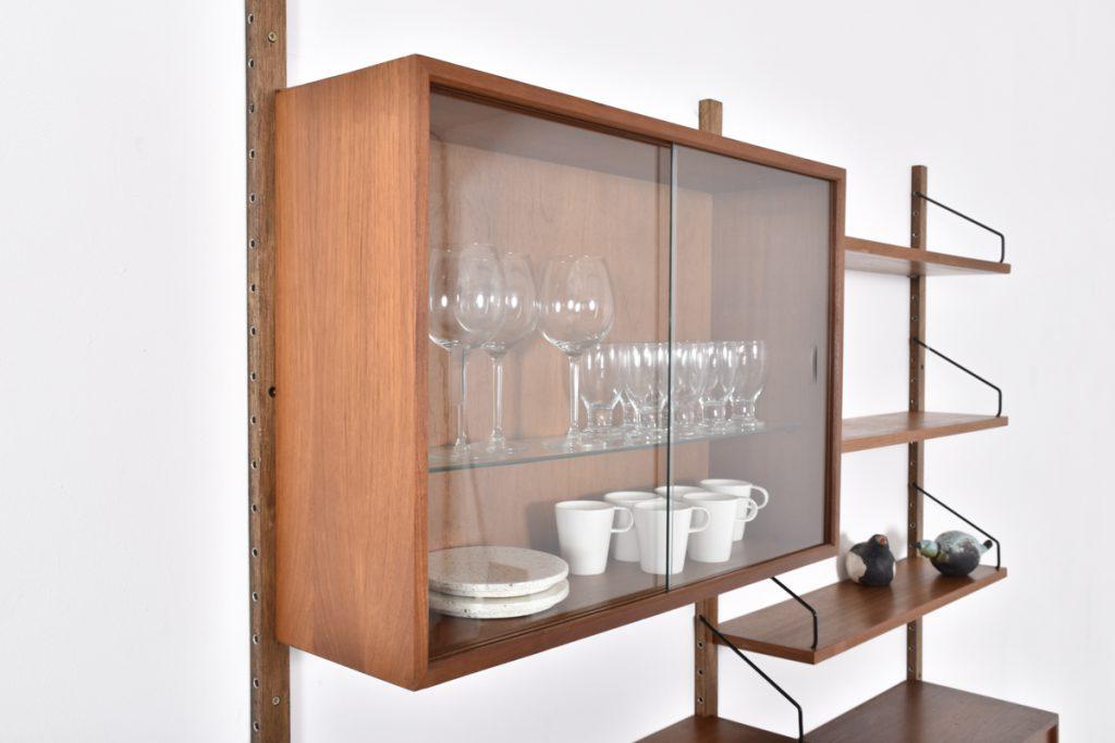 Large display cabinet - H56cm x D24cm x L80cm