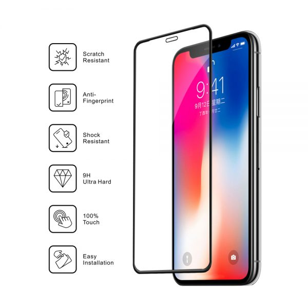 Nordic Shield features iphone x/XS/11 Pro med tekst