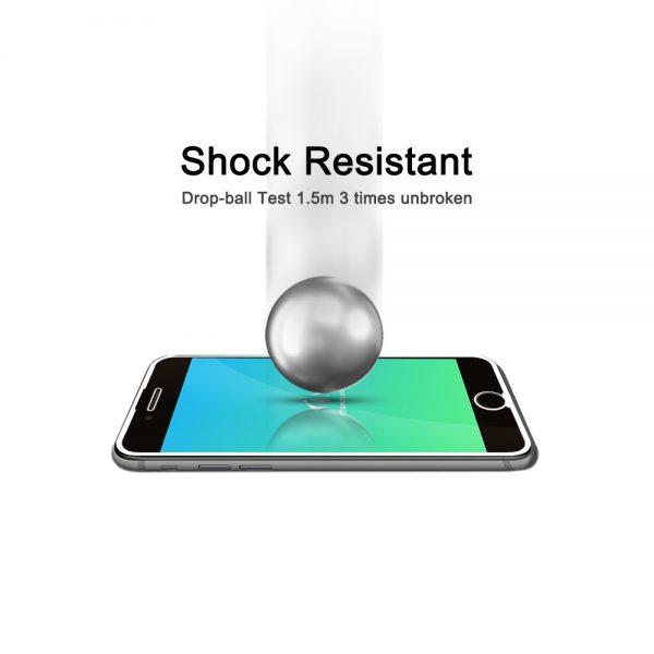 Nordic Shield iPhone 7/8 Shock Resistant panserglas hvid