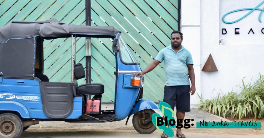 Kjøre tuktuk på Sri Lanka