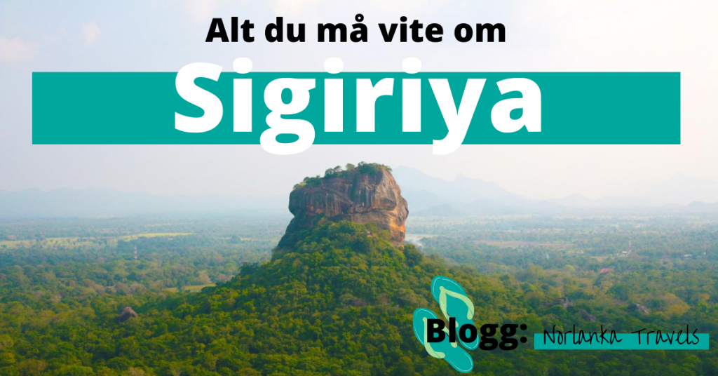 alt du må vite om løvehodet Sigiriya på Sri Lanka