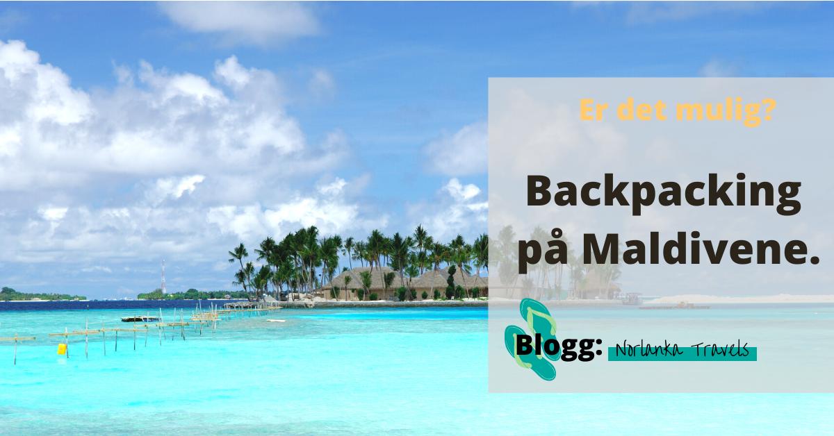 backpacking maldivene