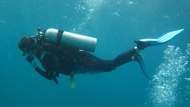 Merete dykker elsker livet under vann