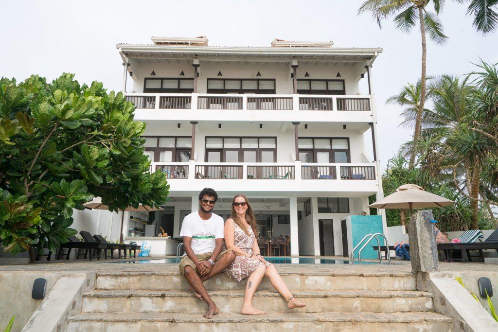 At Ease Beach Hotel Hikkaduwa Sri Lanka