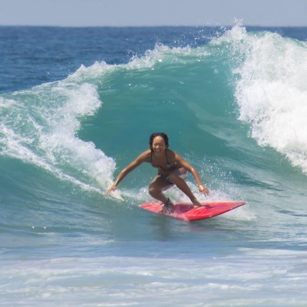 Surfing Hikkaduwa Sri Lanka