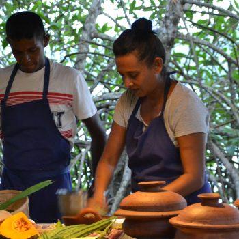 matlagingskurs Hikkaduwa Rice and Curry