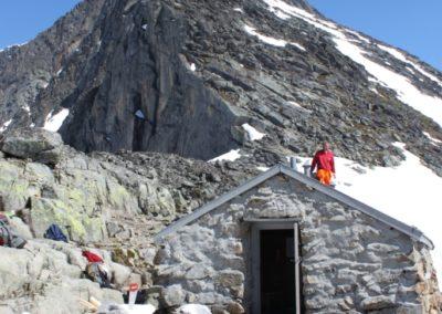 hytte – Skagastølstind