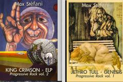 Due libri per quattro gruppi Progressive Rock – INTERVISTA a Max Stèfani – COMPRA
