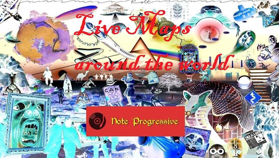 Prog & Tribute Band Live Maps: i concerti del giorno