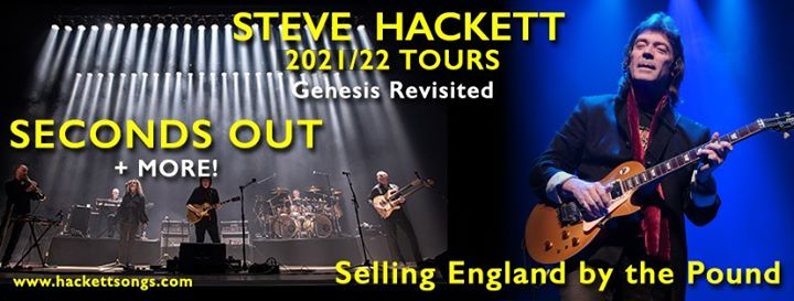 Steve Hackett: i due tour rimandati al 2021/2022