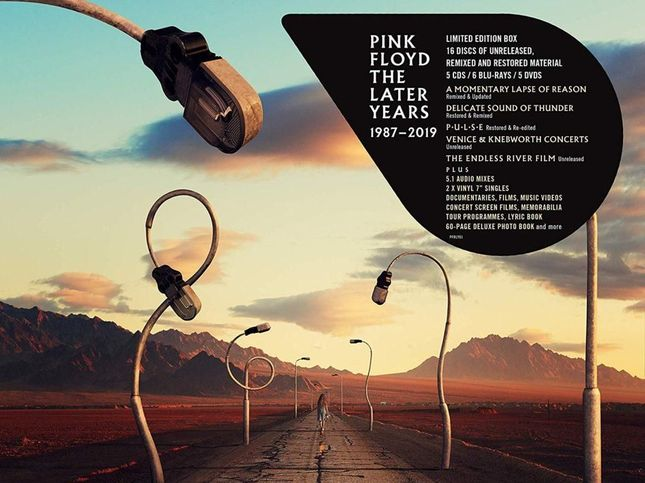 """Pink Floyd, la fase post-Roger Waters in """"The Later Years"""" – COMPRA"""
