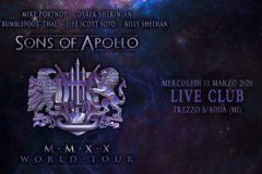 Sons Of Apollo: SOSPESO il live in Italia, ma c'è il nuovo album – COMPRA