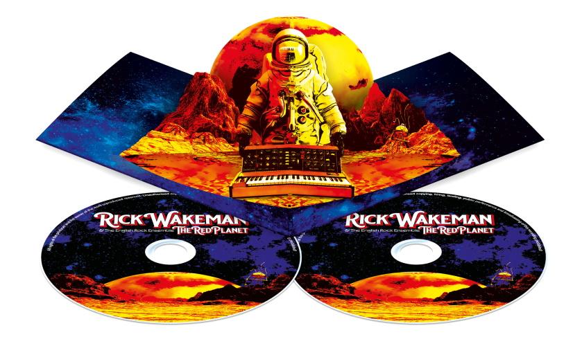Rick Wakeman: l'album The Red Planet – MAKING, INTERVISTA, TRAILER & COMPRA (Mp3, Vinile, CD)