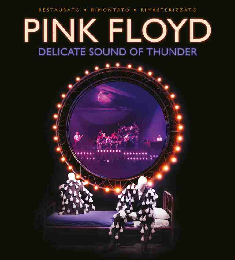 """Rinviata l'uscita al cinema del film """"Pink Floyd. Delicate Sound of Thunder"""" restaurato e rimasterizzato"""