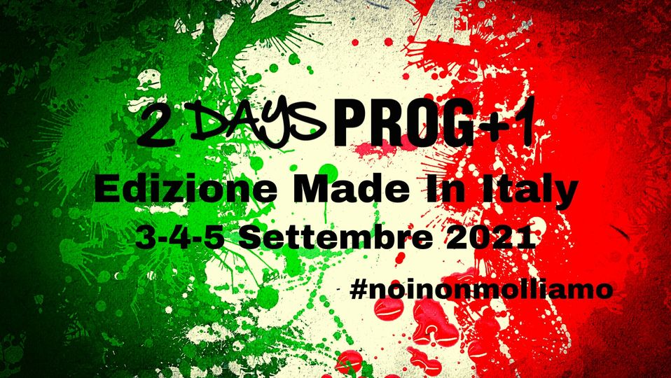 Veruno Musica: 2Days Prog + 1 Festival dal 3 al 5 settembre – AGGIORNAMENTI