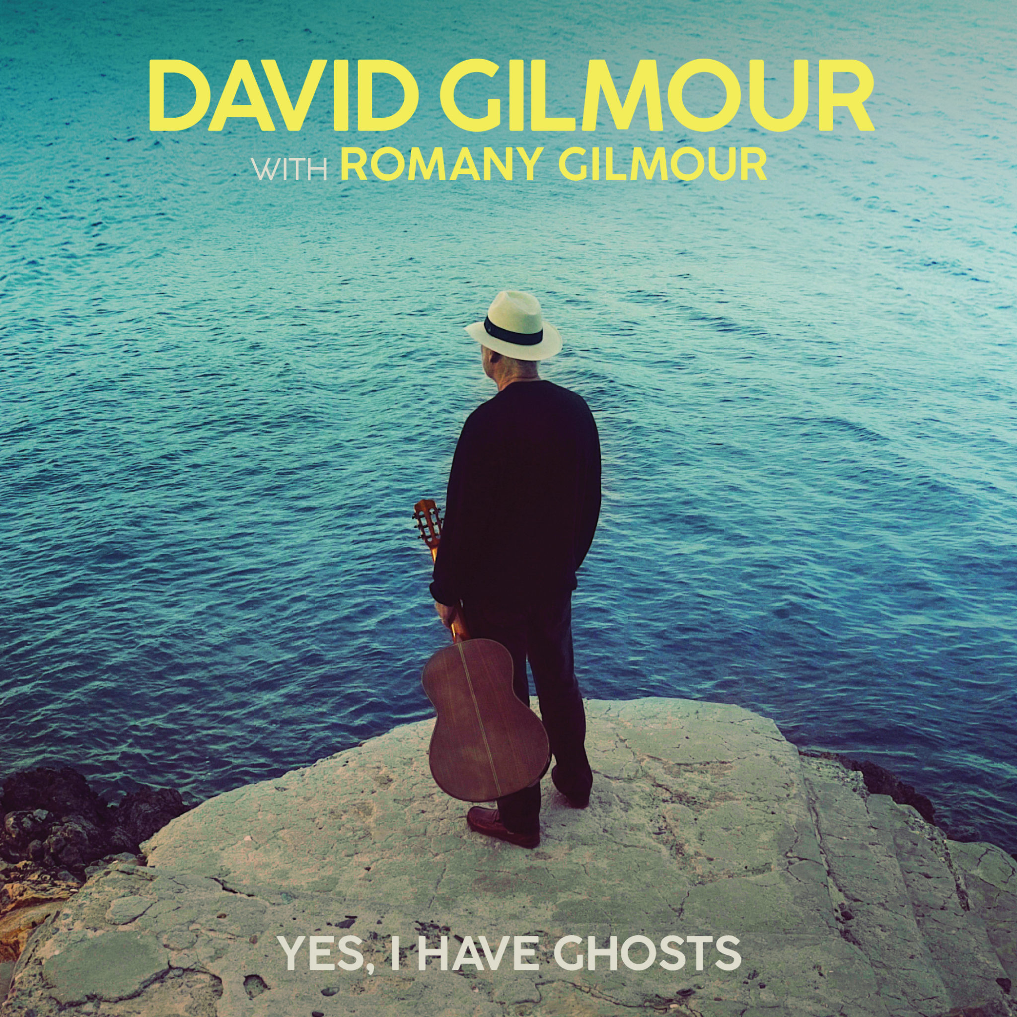 """David Gilmour: il singolo """"Yes I Have Ghosts"""" in versione vinile 7″ – COMPRA"""