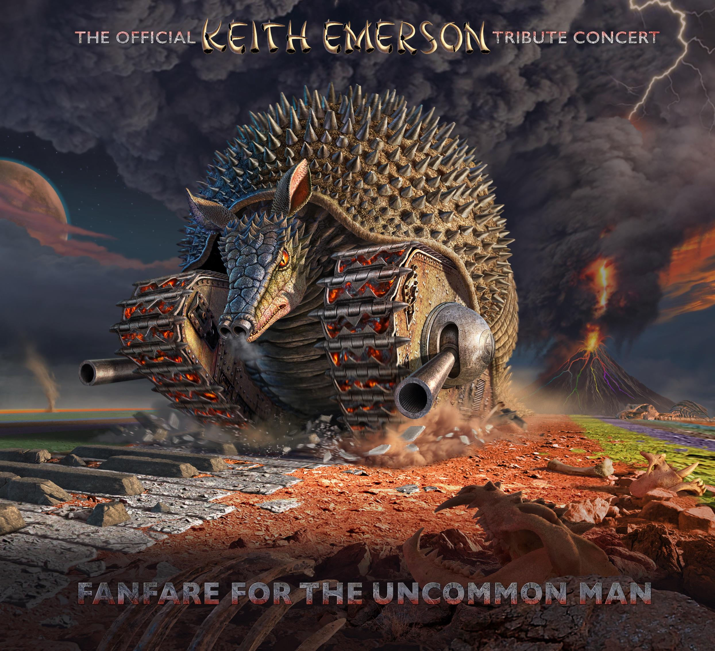 Arriva il concerto tributo a Keith Emerson in CD, DVD e Blu-ray – PRE-ORDINA