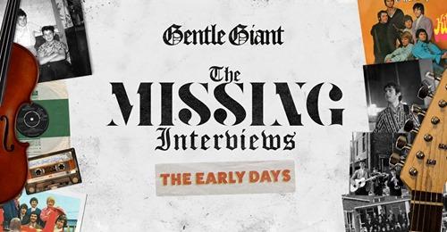 Gentle Giant: ecco le interviste inedite dei primi anni – AUDIO