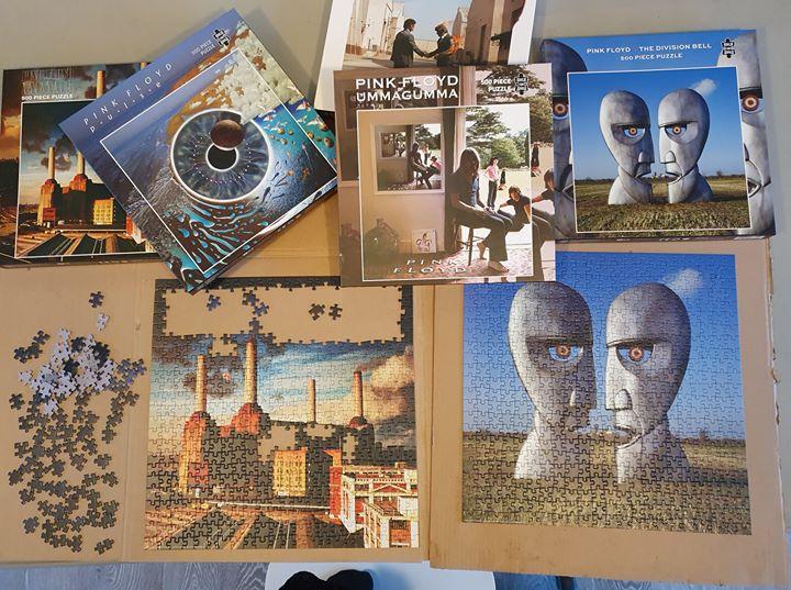 Pink Floyd: nuovi puzzle rendono omaggio alle loro copertine