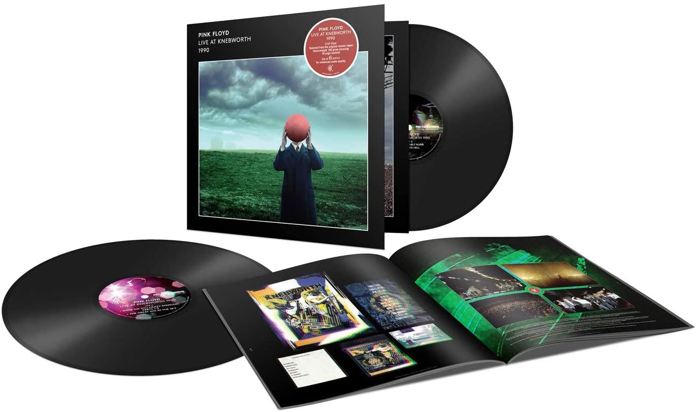 "Pink Floyd: ""Live At Knebworth"" su CD e doppio vinile – COMPRA"